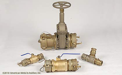 Unmatched selection of American Made Ball Valves and Sliding Gate Valves in Brass or Stainless